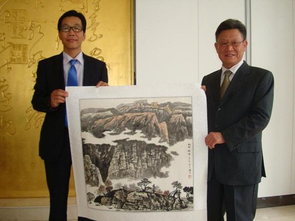 中国当代著名书画家 许国立